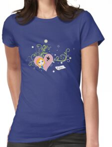 Be Free to Be Yourself Womens Fitted T-Shirt