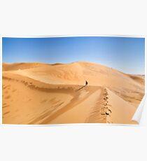 The Algerian Sahara Poster