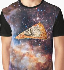 Pizza Cat Graphic T-Shirt