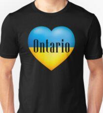 Ukrainian Heart In Ontario T-Shirt