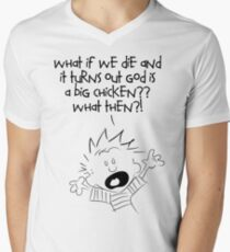 What if we die Mens V-Neck T-Shirt
