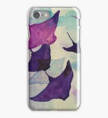 Stingray Water Color iPhone Case/Skin