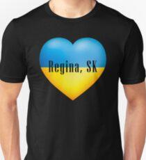 Ukrainian Heart In Regina, SK T-Shirt