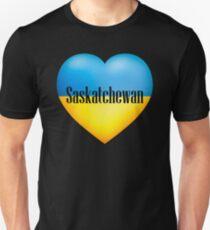 Ukrainian Heart In Saskatchewan T-Shirt