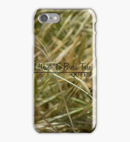 Break free -Queen  iPhone Case/Skin