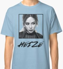 Heize Photo and Name With Box Classic T-Shirt