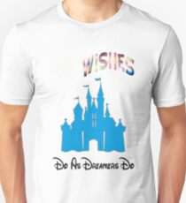 "WDW Wishes "" Do As Dreamers Do""  Unisex T-Shirt"