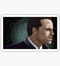 Moriarty, constellations background Sticker