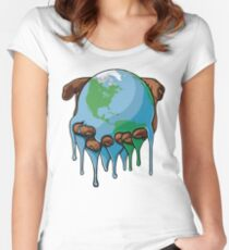 I'm Up Earth Women's Fitted Scoop T-Shirt