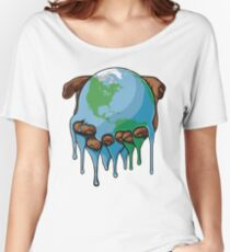 I'm Up Earth Women's Relaxed Fit T-Shirt