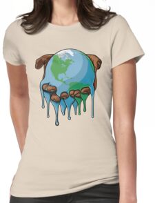 I'm Up Earth Womens Fitted T-Shirt