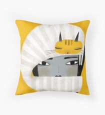 HAT SCARF COMBO Throw Pillow