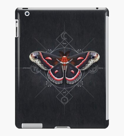 Cecropia Moth iPad Case/Skin