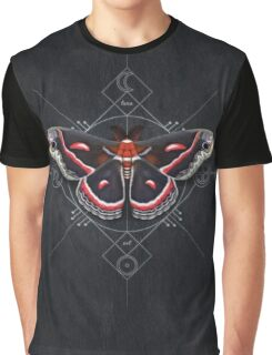 Cecropia Moth Graphic T-Shirt