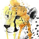Cheetah Splatter by Adlaya