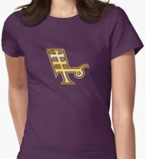 Ascension Sphere: Forces Womens Fitted T-Shirt