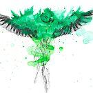 Parrot Splatter by Adlaya