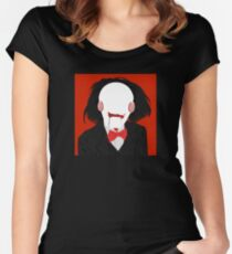 Saw / Billy the Puppet Women's Fitted Scoop T-Shirt