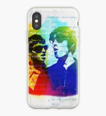 Noel and Liam Gallagher (Oasis) iPhone Case