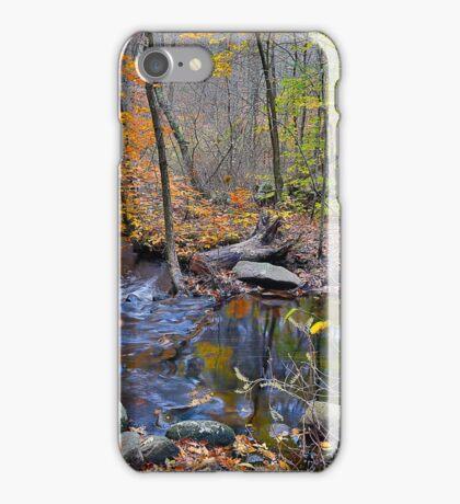 A Creek in Norwell. iPhone Case/Skin