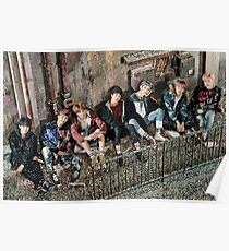 Bangtan Boys You Never Walk Alone Poster