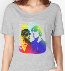 Noel and Liam Gallagher (Oasis) Women's Relaxed Fit T-Shirt