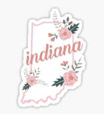 Indiana Floral Sticker