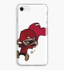Calvin Super Hero iPhone Case/Skin