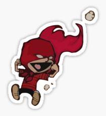 Calvin Super Hero Sticker