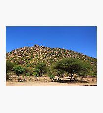 Mountain in Tanzania Photographic Print