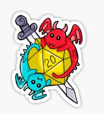 Dice Dragons Sticker