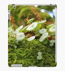 Small flora world iPad Case/Skin