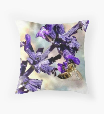 Sting Like A Bee  Throw Pillow