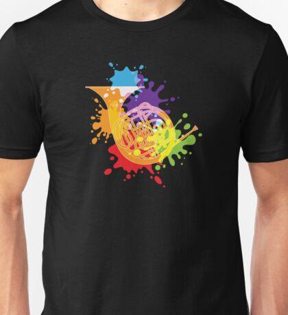 French Horn Unisex T-Shirt