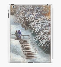 On the stairs iPad Case/Skin