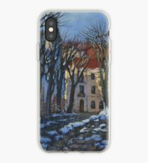 Winter street iPhone Case