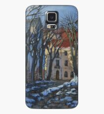 Winter street Case/Skin for Samsung Galaxy