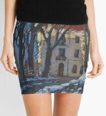 Winter street Mini Skirt