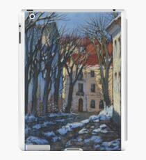 Winter street iPad Case/Skin
