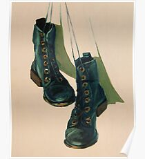 Black Boots Poster