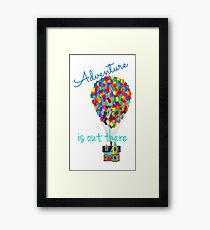 Up (Adventure) Framed Print