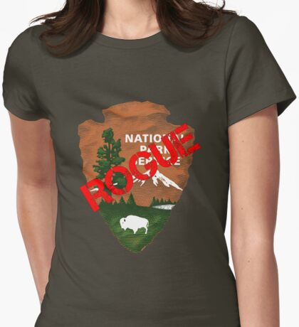 ROGUE NATIONAL PARK SERVICE Womens Fitted T-Shirt