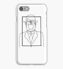 Rene Magritte Son of Man iPhone Case/Skin