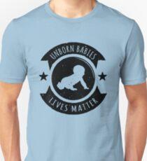 Unborn Babies Lives Matter Pro-Life Unisex T-Shirt