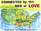 Connected by the Web of Love by Ellen Sauer