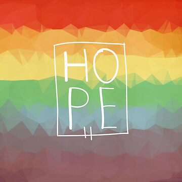 Pride Rainbow Hope  by Juniper2011