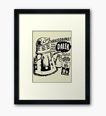 dalek playsuit Framed Print