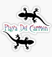 Playa Del Carmen Sticker