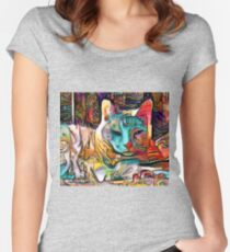 Sweet Muse Women's Fitted Scoop T-Shirt