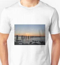 Ghost Pier at Dusk T-Shirt